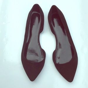 Black flats by Forever 21.